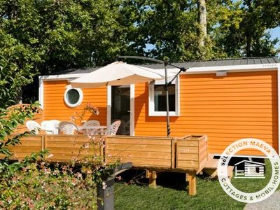 Photo for Camping Les Chèvrefeuilles **** - Maeva Camping - Mobile Home Ketch Woody 3 Rooms 4/6 People