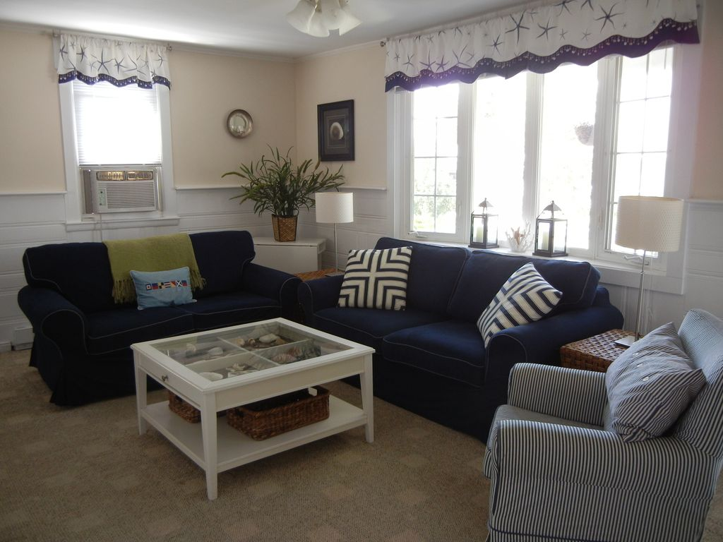 Updated Beach House All The Comforts Of Home Steps To Private - Comforts of home furniture
