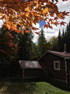 Photo for 2 Bedroom Log Cottage close to Eagle Lake and Provincial Parks