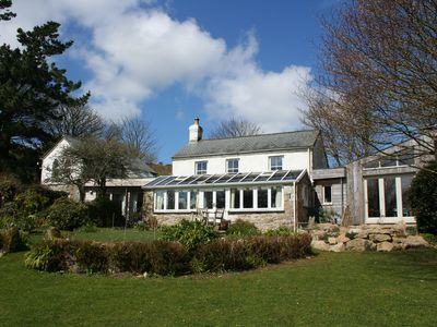 Photo for Stunning, spacious cottage,beautiful gardens close to coast & Penzance,Cornwall