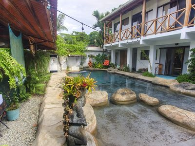 Photo for Oasis in town-Private house in Puerto Viejo with a pool.