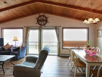 Photo for Oceanfront, pet friendly home in Cannon Beach