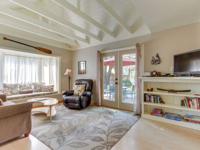 Photo for Convenient, refurbished, picturesque cottage near trails and the center of town