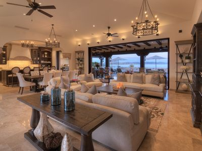 Photo for Luxurious Hilltop Home with Awe-inspiring ocean views.