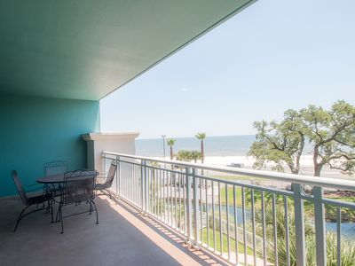 Photo for Spectacular Beach & Pool Views Condo Plus Resort Amenities