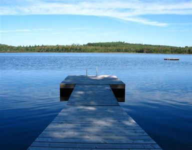 Peace and Tranquility on Private Pierces Pond