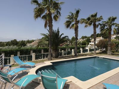 Photo for Stunning private villa for 7 guests with WIFI, A/C, private pool, TV and parking