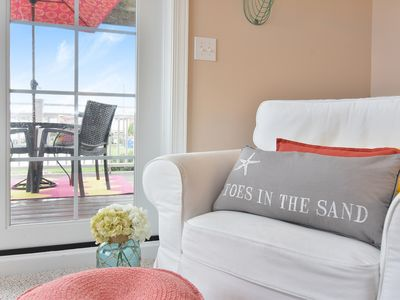 Photo for Toes in the Sand at One Ludington Place: Pool/Hot Tub/Close to beach!!