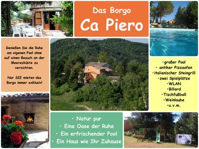 Photo for Holiday house Urbino for 1 - 12 persons with 4 bedrooms - Holiday home