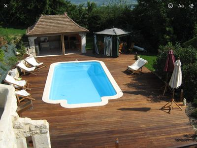 Photo for Property for 12 people with swimming pool.