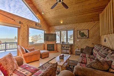 Year round, you'll find adventure just out of the front door of this home!