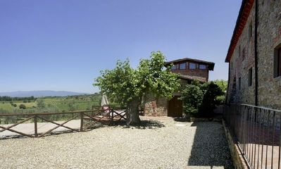 Photo for Lovely farmhouse rental in Tuscany