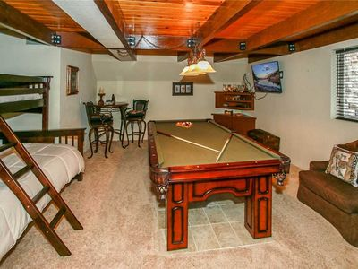 Photo for Moonridge Manor - Spacious Cabin, Hot tub, Game Room with Pool Table! FREE 2 hour Bike/Kayak Rental!