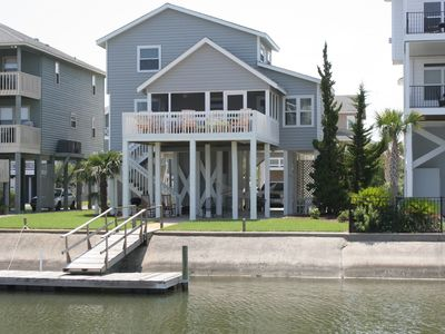 Photo for WATERFRONT CANAL HOME WITH EASY BEACH ACCESS, USE OF GOLF CART
