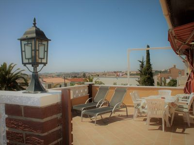 Photo for It is very sunny house, big terrace, pets welcome, 5 minutes from  the beach