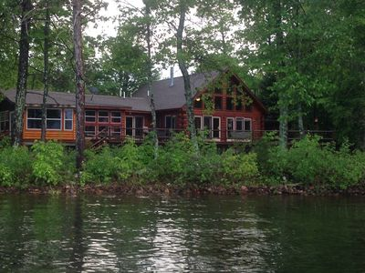 Photo for Premier Round Lake Chalet / New Listing / Prime Summer Openings / 300' Lakefront