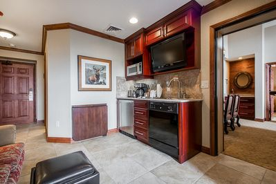 The 1BR next to the studio (door on right) is not included but available!