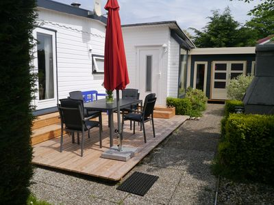 "Photo for Holiday bungalow ""Hela"" (T15) with terrace at Grooten Vliet, near the IJsselmeer"