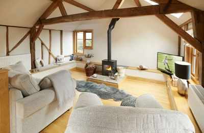 Photo for Delightful barn five miles from Ludlow, Barn at Cullis Croft offers accommodation for three.