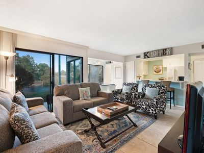 Photo for NEW LISTING! Family-friendly, lakefront condo w/ shared pools & 2 tennis courts