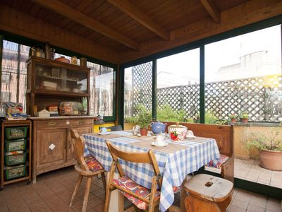 Photo for Near Termini for 16 up to people with terrace
