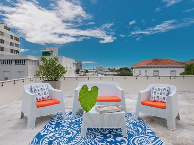 Photo for Sol y Luna   1 Bedroom with private Rooftop in trendy Miramar