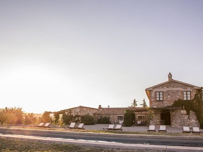 Photo for Luxury Country Villa in Val d'Orcia - close to Siena in Tuscany