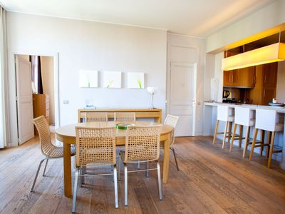 Photo for Large and modern 3 bedroom apartment in the heart of Cannes
