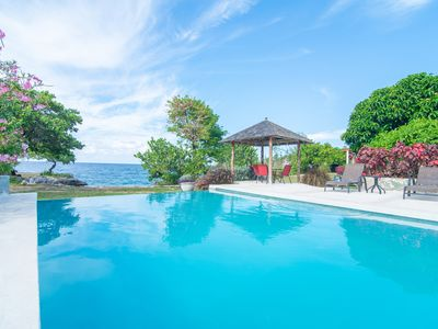 Photo for Spectacular 2 bedroom ocean front Villa 2 at Chukka Cove