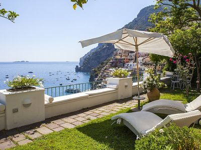 Photo for Villa Galene: An elegant and welcoming three-story villa located in the center of Positano, with Free WI-FI.