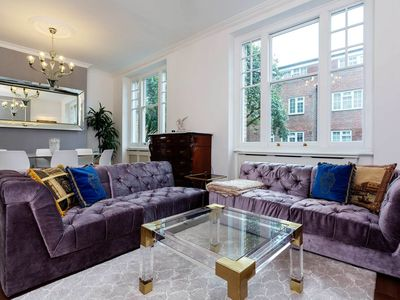 Photo for Sleek & Modern 2 BR apartment in Maida Vale, Sleeps 4 (Veeve)
