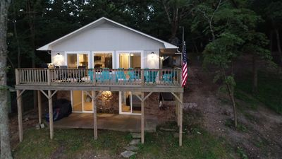 Photo for Beautifully Remodeled Home, Grand Views and a private Boat Dock No Flood Issues