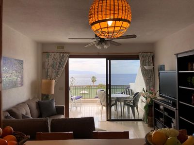 Photo for charming, cozy 2 bedroom apartment with fantastic sea views