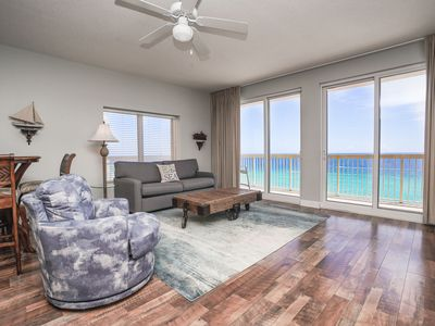Photo for Direct Beachfront! Amenities Galore! HURRY & BOOK BEFORE ITS TOO LATE!