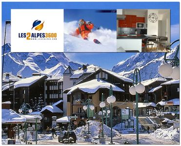 Photo for Contemporary apartment in the heart of the Ecrins - Plein Sud - Ski In Feet