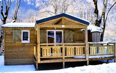 Photo for Camping La Perrière ** - Chalet 3 Rooms 6 People