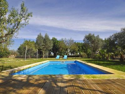 Photo for Calendar 2021 Opened- ES POUET- House 6 people Consell -MALLORCA-. private pool. BBQ. - Free Wifi