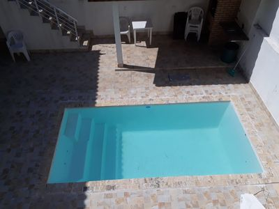 Photo for House near the beach, 7 bedrooms, pool.