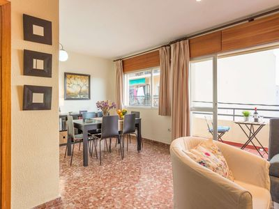 Photo for Fantastic, bright and spacious apartment with 2 separate bedrooms