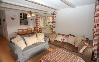 Photo for Nice 4 piece apartment on 2nd floor, in the center of Verbier.  Composition :  • Living-room wit