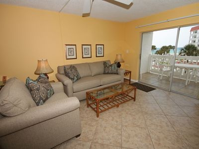 Photo for 2BR / 2BA - Beautiful views of the Gulf and pool