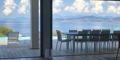 Photo for 300m2 Villa, 5 Bedrooms, Heated Pool, Sea View, ranked 5 *