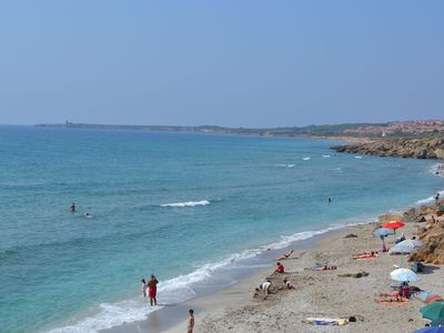 Photo for Sea view apartment in San Giovanni di Sinis, 100 m from the beach