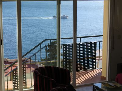 Photo for TM. Semi-detached house with incredible sea view and community pool.