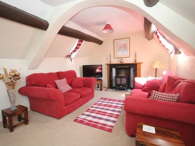 Photo for Housekeepers, sleeps 4/5, characterful, beamed property near the Quantock Hills.
