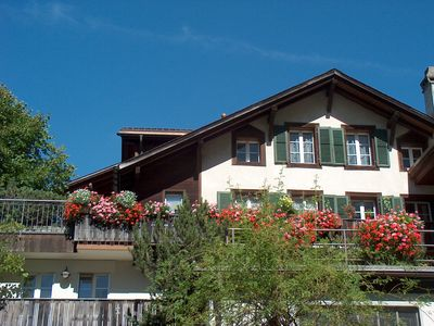 Photo for Apartments in Grindelwald with magnificent mountain and glacier views
