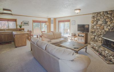 Photo for Great 2 bed condo, private jacuzzi. This is the best location in Ketchum!