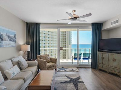 Photo for Shores of Panama 1BR/Bnk/2BA Free Wifi Reserved Parking  Master on Gulf  - No Amenity Fees