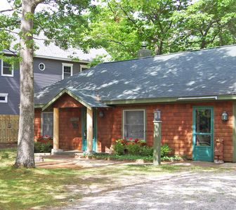 Photo for Charming Cottage in Downtown Glen Arbor- Half a Block from the Beach