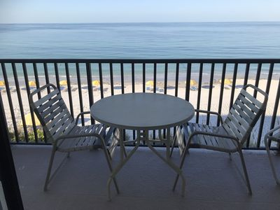 """Photo for Gulf Front Aug From $795 Wk! 2/BdBa 55""""TV Pool With Beach View! Wifi"""